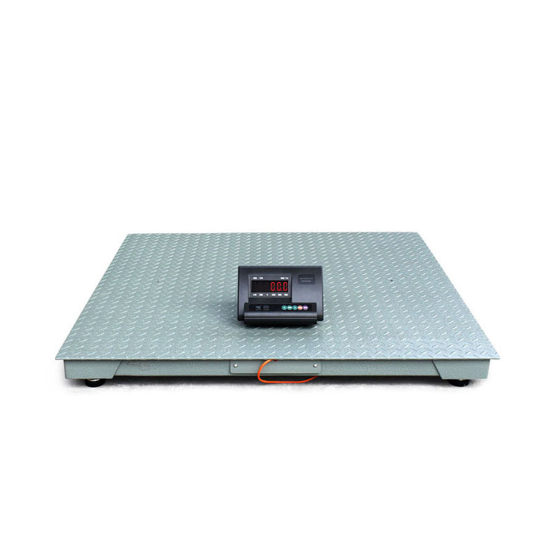 500kg Floor Weighing Scale Pallet , Electronic Floor Scale Movable With Printer